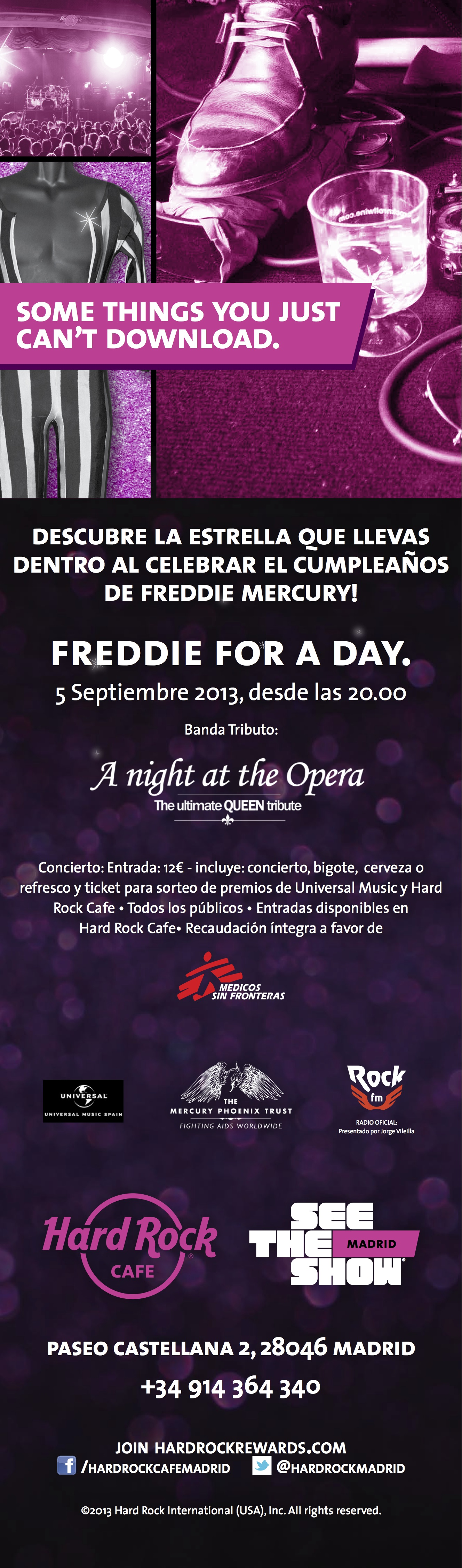136225 - HRC 5508 - MADRID - FREDDIE FOR A DAY - 3050x900 copia